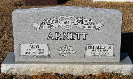 ARNETT, RICHADEEN M. - Faulkner County, Arkansas | RICHADEEN M. ARNETT - Arkansas Gravestone Photos