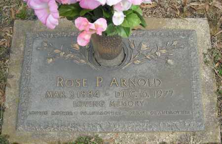 ARNOLD, ROSE P. - Faulkner County, Arkansas | ROSE P. ARNOLD - Arkansas Gravestone Photos