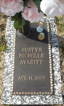AVARITT, AUSTYN MICHELLE (2) - Faulkner County, Arkansas | AUSTYN MICHELLE (2) AVARITT - Arkansas Gravestone Photos