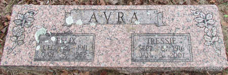 AVRA, FELIX - Faulkner County, Arkansas | FELIX AVRA - Arkansas Gravestone Photos