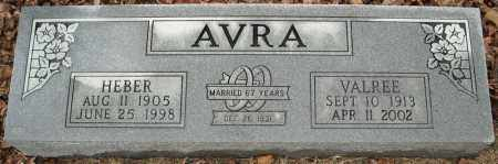 AVRA, VALREE - Faulkner County, Arkansas | VALREE AVRA - Arkansas Gravestone Photos