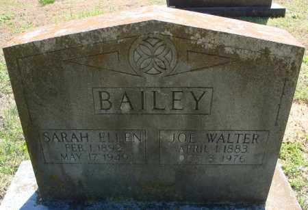 BAILEY, SARAH ELLEN - Faulkner County, Arkansas | SARAH ELLEN BAILEY - Arkansas Gravestone Photos