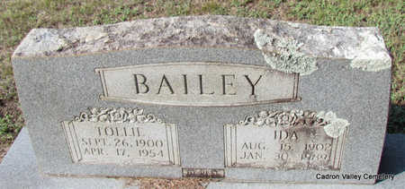 BAILEY, IDA - Faulkner County, Arkansas | IDA BAILEY - Arkansas Gravestone Photos