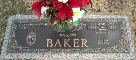 BAKER, O.T. - Faulkner County, Arkansas | O.T. BAKER - Arkansas Gravestone Photos