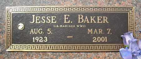 BAKER (VETERAN WWII), JESSE E - Faulkner County, Arkansas | JESSE E BAKER (VETERAN WWII) - Arkansas Gravestone Photos