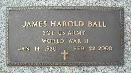 BALL (VETERAN WWII), JAMES HAROLD - Faulkner County, Arkansas | JAMES HAROLD BALL (VETERAN WWII) - Arkansas Gravestone Photos