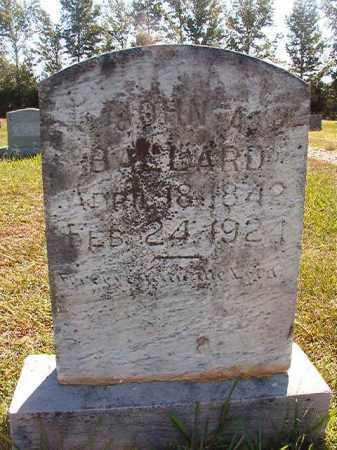 BALLARD, JOHN A. - Faulkner County, Arkansas | JOHN A. BALLARD - Arkansas Gravestone Photos