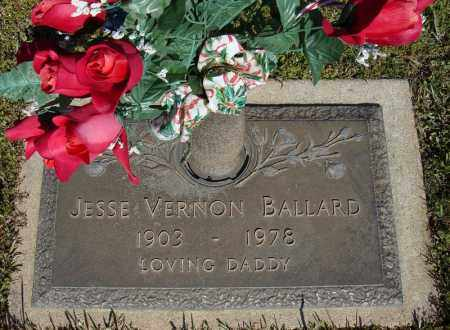 BALLARD, JESSE VERNON - Faulkner County, Arkansas | JESSE VERNON BALLARD - Arkansas Gravestone Photos