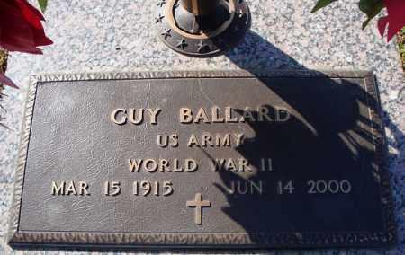 BALLARD (VETERAN WWII), GUY - Faulkner County, Arkansas   GUY BALLARD (VETERAN WWII) - Arkansas Gravestone Photos