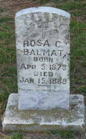 BALMAT, ROSA C. - Faulkner County, Arkansas | ROSA C. BALMAT - Arkansas Gravestone Photos