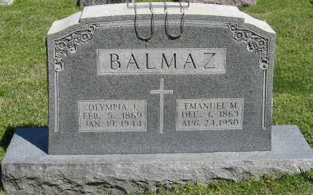 BALMAZ, EMANUEL M. - Faulkner County, Arkansas | EMANUEL M. BALMAZ - Arkansas Gravestone Photos