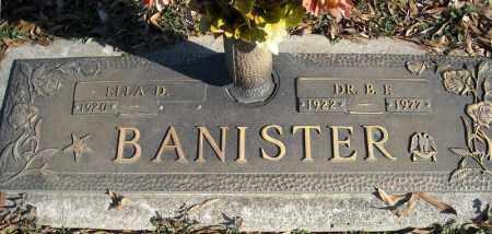 BANISTER, DR., B.F. - Faulkner County, Arkansas | B.F. BANISTER, DR. - Arkansas Gravestone Photos