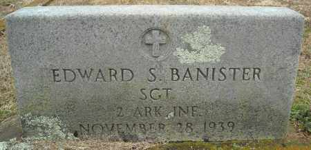BANISTER (VETERAN), EDWARD S - Faulkner County, Arkansas | EDWARD S BANISTER (VETERAN) - Arkansas Gravestone Photos