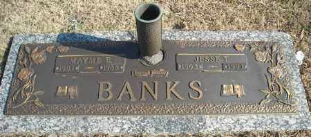 BANKS, JESSE T. - Faulkner County, Arkansas | JESSE T. BANKS - Arkansas Gravestone Photos