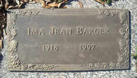BARGER, IMA JEAN - Faulkner County, Arkansas | IMA JEAN BARGER - Arkansas Gravestone Photos