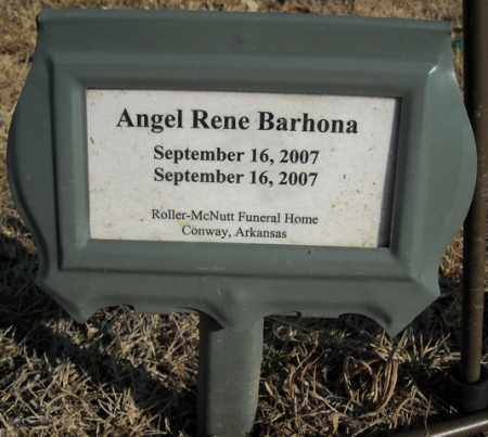 BARHONA (INFANT), ANGEL RENE - Faulkner County, Arkansas | ANGEL RENE BARHONA (INFANT) - Arkansas Gravestone Photos