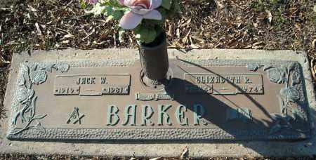 BARKER, JACK W. - Faulkner County, Arkansas | JACK W. BARKER - Arkansas Gravestone Photos