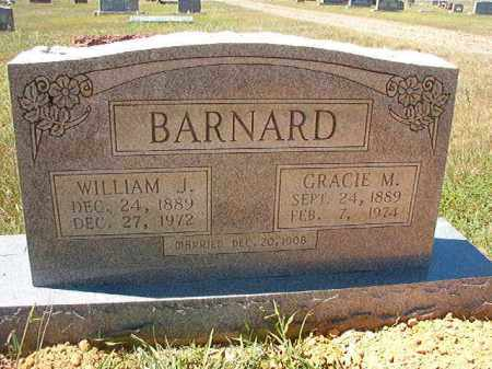 BARNARD, WILLIAM JACKSON - Faulkner County, Arkansas | WILLIAM JACKSON BARNARD - Arkansas Gravestone Photos