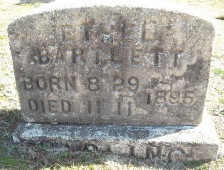 BARTLETT, ETHEL - Faulkner County, Arkansas | ETHEL BARTLETT - Arkansas Gravestone Photos