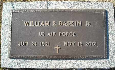 BASKIN, JR (VETERAN), WILLIAM E - Faulkner County, Arkansas | WILLIAM E BASKIN, JR (VETERAN) - Arkansas Gravestone Photos