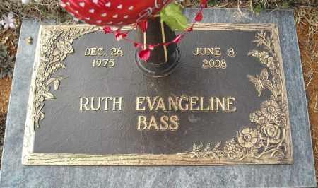 BASS, RUTH EVANGELINE - Faulkner County, Arkansas | RUTH EVANGELINE BASS - Arkansas Gravestone Photos
