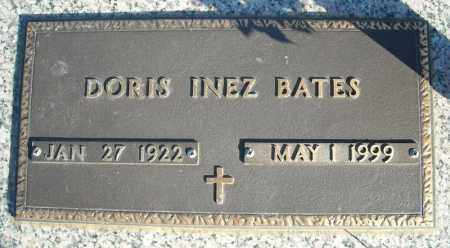 BATES, DORIS INEZ - Faulkner County, Arkansas | DORIS INEZ BATES - Arkansas Gravestone Photos