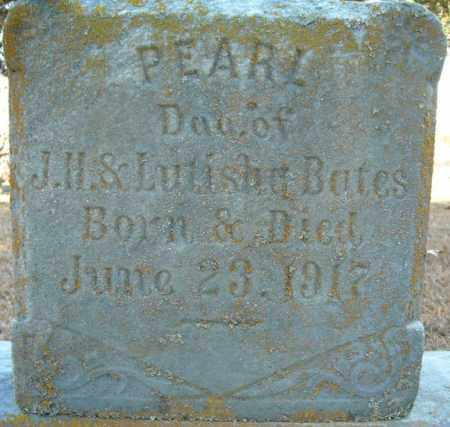 BATES, PEARL - Faulkner County, Arkansas | PEARL BATES - Arkansas Gravestone Photos