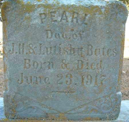BATES, PEARL - Faulkner County, Arkansas | PEARL BATES - Arkansas Gravestone Photos