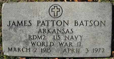 BATSON  (VETERAN  WWII), JAMES PATTON - Faulkner County, Arkansas | JAMES PATTON BATSON  (VETERAN  WWII) - Arkansas Gravestone Photos