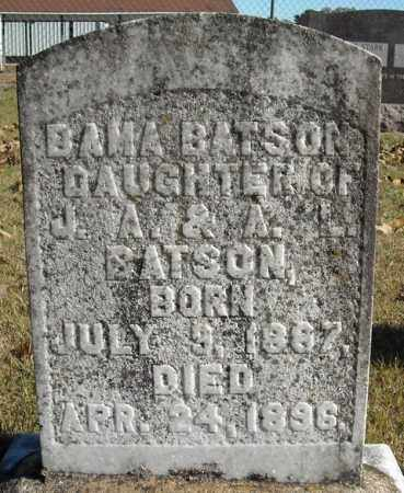 BATSON, BAMA - Faulkner County, Arkansas | BAMA BATSON - Arkansas Gravestone Photos