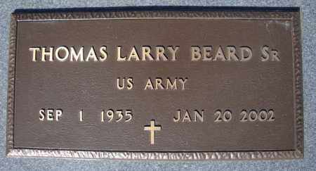 BEARD, SR (VETERAN), THOMAS LARRY - Faulkner County, Arkansas | THOMAS LARRY BEARD, SR (VETERAN) - Arkansas Gravestone Photos