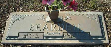 BEARDEN, CARRIE M. - Faulkner County, Arkansas | CARRIE M. BEARDEN - Arkansas Gravestone Photos