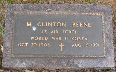 BEENE  (VETERAN 2 WARS), M. CLINTON - Faulkner County, Arkansas | M. CLINTON BEENE  (VETERAN 2 WARS) - Arkansas Gravestone Photos