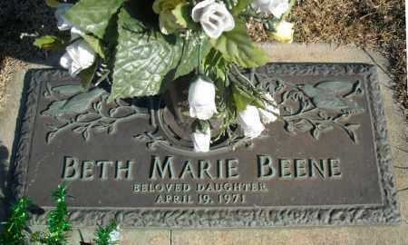 BEENE, BETH MARIE - Faulkner County, Arkansas | BETH MARIE BEENE - Arkansas Gravestone Photos