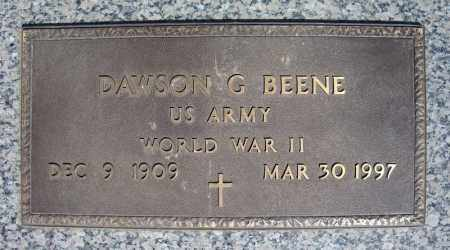 BEENE (VETERAN WWII), DAWSON G - Faulkner County, Arkansas | DAWSON G BEENE (VETERAN WWII) - Arkansas Gravestone Photos
