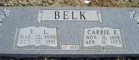 BELK, CARRIE E. - Faulkner County, Arkansas | CARRIE E. BELK - Arkansas Gravestone Photos