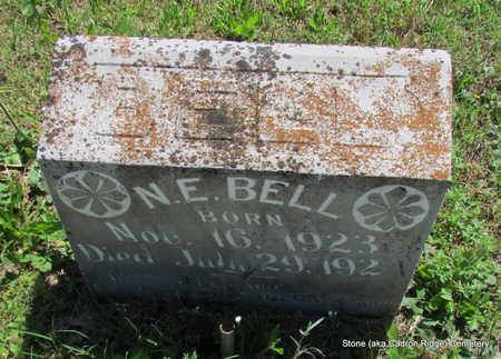 BELL, N.E. - Faulkner County, Arkansas | N.E. BELL - Arkansas Gravestone Photos