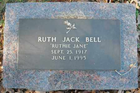 BELL, RUTH JACK - Faulkner County, Arkansas | RUTH JACK BELL - Arkansas Gravestone Photos