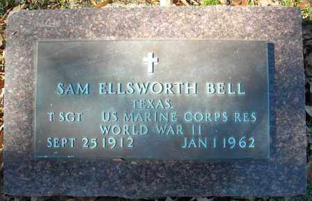 BELL (VETERAN WWII), SAM ELLSWORTH - Faulkner County, Arkansas | SAM ELLSWORTH BELL (VETERAN WWII) - Arkansas Gravestone Photos
