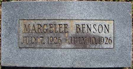 BENSON, MARGELEE - Faulkner County, Arkansas | MARGELEE BENSON - Arkansas Gravestone Photos