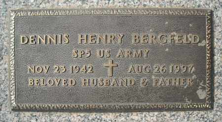 BERGFELD (VETERAN), DENNIS HENRY - Faulkner County, Arkansas | DENNIS HENRY BERGFELD (VETERAN) - Arkansas Gravestone Photos