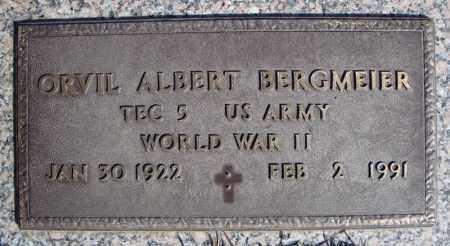 BERGMEIER (VETERAN WWII), ORVIL ALBERT - Faulkner County, Arkansas | ORVIL ALBERT BERGMEIER (VETERAN WWII) - Arkansas Gravestone Photos