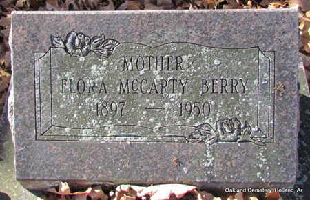MCCARTHY BERRY, FLORA - Faulkner County, Arkansas | FLORA MCCARTHY BERRY - Arkansas Gravestone Photos