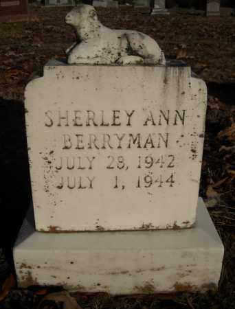 BERRYMAN, SHERLEY ANN - Faulkner County, Arkansas | SHERLEY ANN BERRYMAN - Arkansas Gravestone Photos