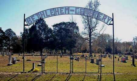 *BETHLEHEM CEMETERY SIGN,  - Faulkner County, Arkansas    *BETHLEHEM CEMETERY SIGN - Arkansas Gravestone Photos