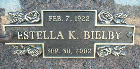 BIELBY, ESTELLA K. - Faulkner County, Arkansas | ESTELLA K. BIELBY - Arkansas Gravestone Photos