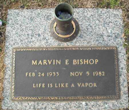 BISHOP, MARVIN E. - Faulkner County, Arkansas | MARVIN E. BISHOP - Arkansas Gravestone Photos