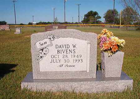 BIVENS, DAVID W. - Faulkner County, Arkansas | DAVID W. BIVENS - Arkansas Gravestone Photos