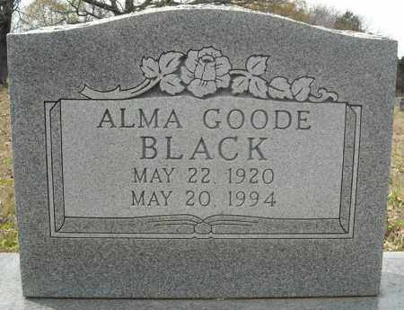 BLACK, ALMA (TWIN) - Faulkner County, Arkansas | ALMA (TWIN) BLACK - Arkansas Gravestone Photos