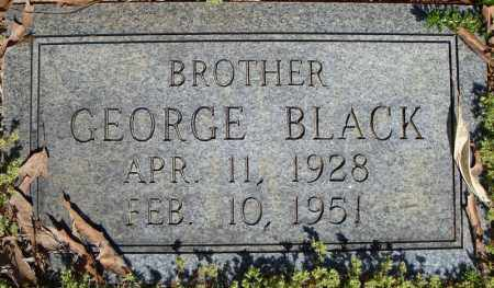 BLACK, GEORGE - Faulkner County, Arkansas | GEORGE BLACK - Arkansas Gravestone Photos